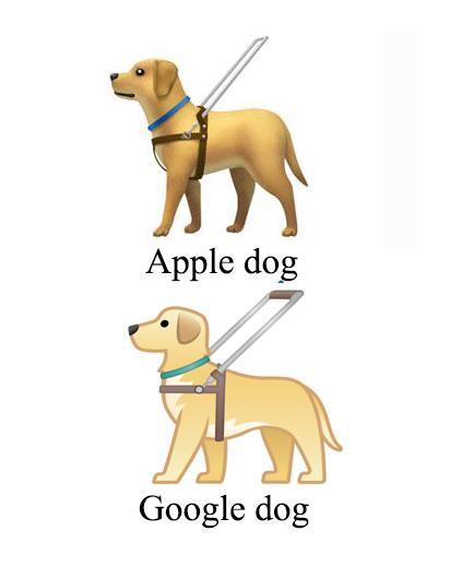Apple+Google dog